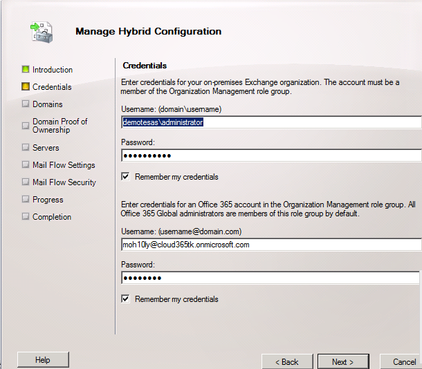 Exchange Hybrid Integration with Office 365 - Moh10ly Old Site