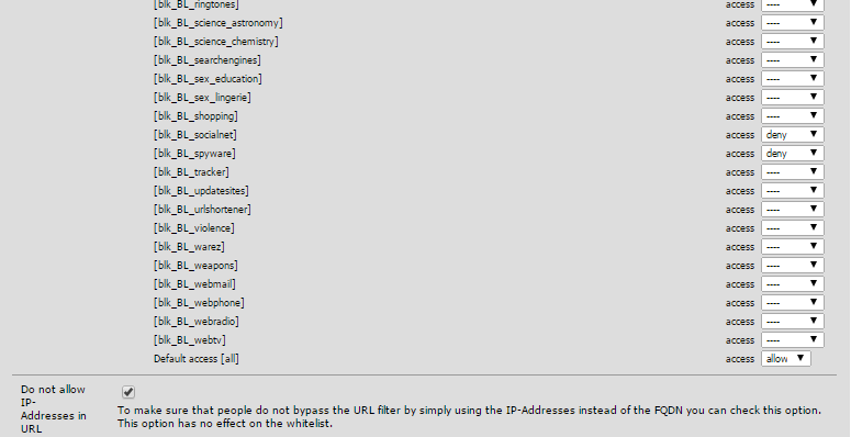 Block Facebook on Pfsense using WPAD Autodiscover feature