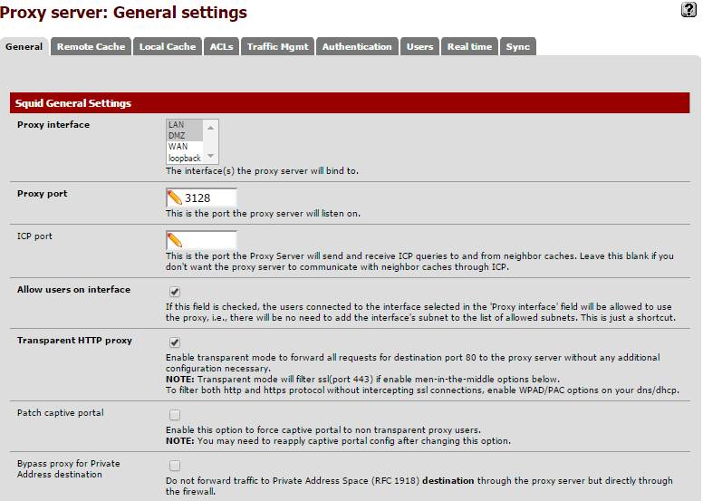 Setup Squid Guard (Proxy Server) on Pfsense - Moh10ly Old Site
